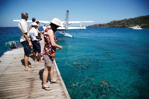巴厘岛迷你度假村 谢霆锋在这求婚